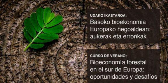 Curso de bioeconomía forestal en el sur de Europa: oportunidades y desafios