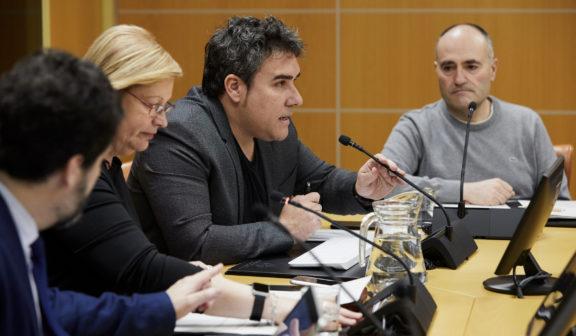 Baskegur defiende en el Parlamento Vasco la aportación del sector-forestal madera