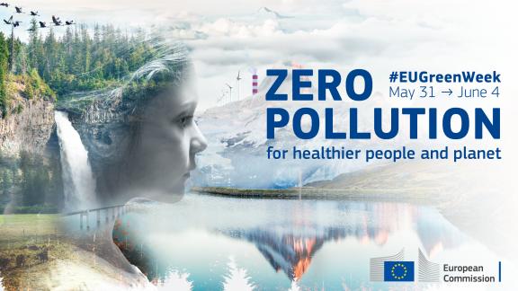 """Baskegur presente en el evento EU Green Week 2021 que tiene como Lema """"Contaminación Cero: para una población y un planeta más sanos"""""""