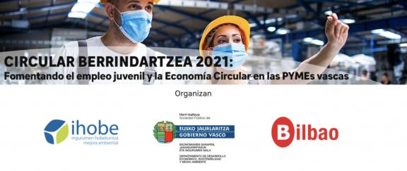 """Baskegur colabora con la iniciativa """"Circular Berrindartzea 2021"""""""
