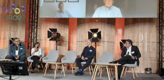 Baskegur participa en la presentación del proyecto WoodCircus en el Forum Internacional Bois Construction de Paris